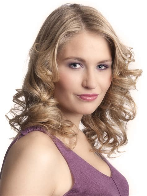 Hair Hairstyles by Hair Styled With Curls For A Appeal And