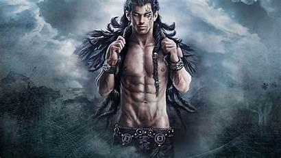 Fantasy Desktop Wallpapers Male Warriors Warrior Naked