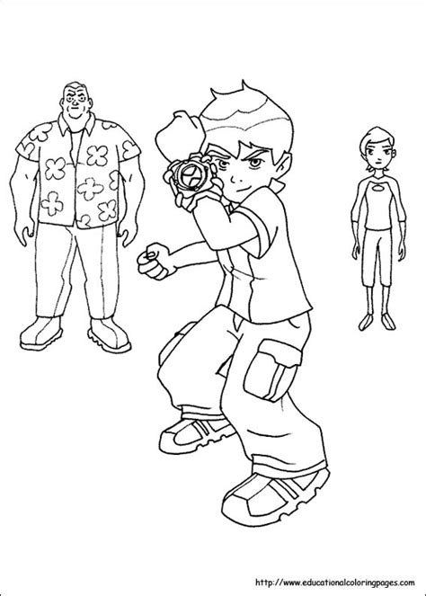 ben  coloring pages   kids