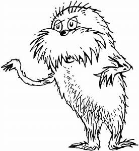 Fish From Lorax Coloring Pages Coloring Pages