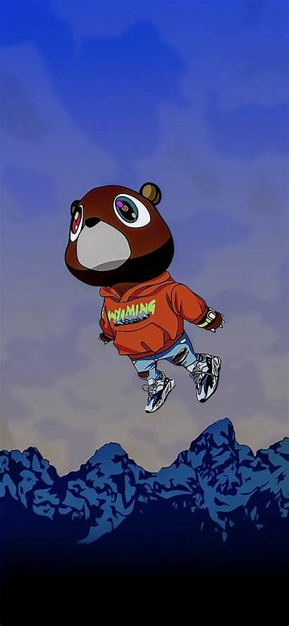 Iphone Drawing Kanye West Graduation Wyoming Cartoon