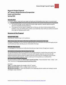 research design sample in a research proposal example