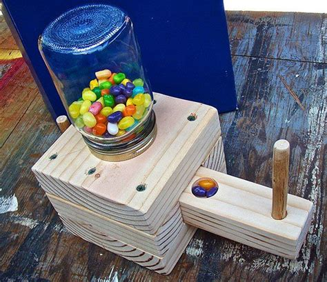 dyi candy dispenser kid friendly wood project wood