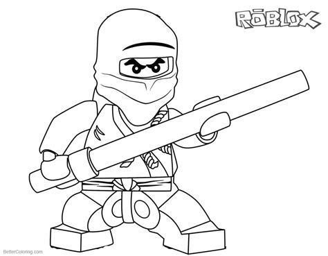 Roblox Roblox Kleurplaat by Roblox Minecraft Coloring Pages