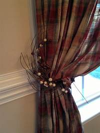 curtain tie back ideas Best 25+ Primitive curtains ideas on Pinterest | Country curtains, Country window treatments and ...