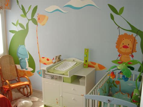 attrayant comment decorer chambre bebe fille 4 photos bild galeria decoration murale chambre