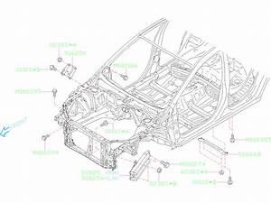 2018 Subaru Crosstrek Plate Complete Pitching Stopper