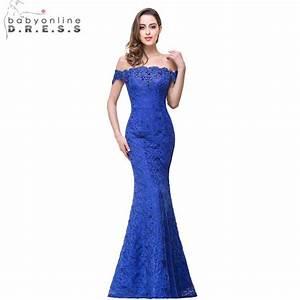 aliexpresscom buy robe demoiselle d39honneur cheap With robe de soirée bleu electrique