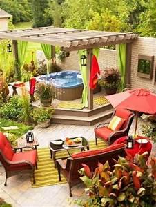 veranda mit naturstein gestalten garten kamin feuerstelle With feuerstelle garten mit aluminium balkon kosten