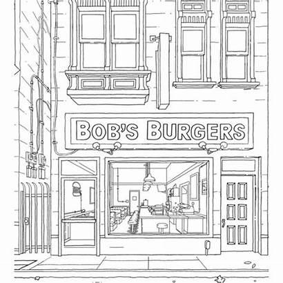 Coloring Burgers Bob Official Bobs Info Code