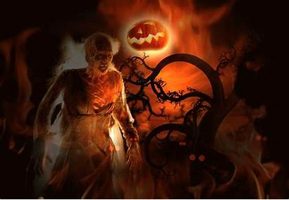 Halloween Animated Spooky Desktop Gifs Scary Backgrounds