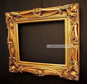 Bilderrahmen 50 X 40 : prunk bilderrahmen 40 x 50 cm 60x70 cm gold vintage rokoko barockrahmen ~ Yasmunasinghe.com Haus und Dekorationen