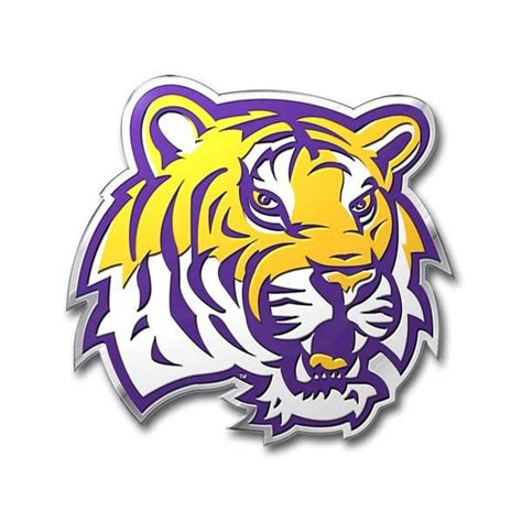 LSU Tigers Auto Emblem - Color | Lsu tigers football, Lsu ...