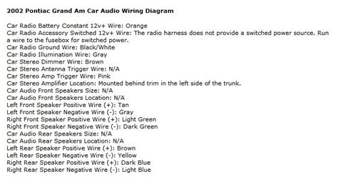 2003 Pontiac Grand Am Wiring Harnes by Pontiac Grand Am Questions Can Anyone Help Me With