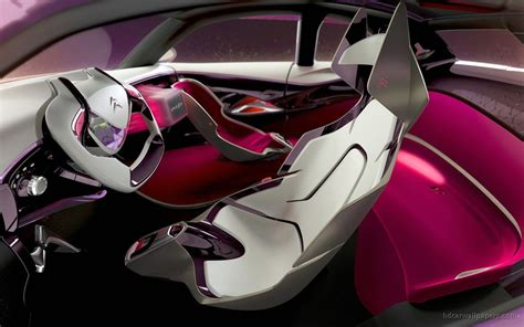 Citroen Revolte Concept Interior Wallpaper