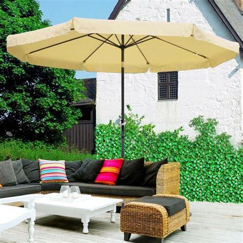Umbrella Backyard by 10ft Aluminum Outdoor Patio Umbrella Yard Garden Market W