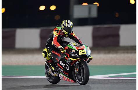 aprilia racing qatar tests day