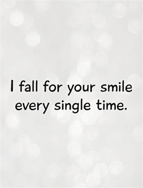 fall   smile  single time picture quotes