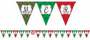 traditional christmas classic christmas decorations With christmas letter banner