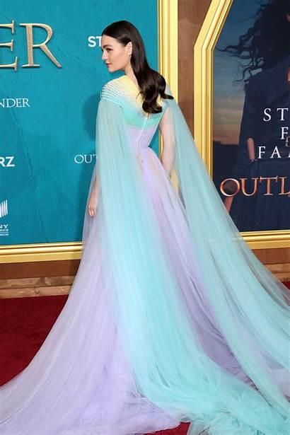 Outlander Sophie Skelton Tv Season Premiere Celebmafia