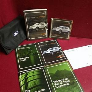 2013 Ford Explorer Owners Manual With Maintenance And