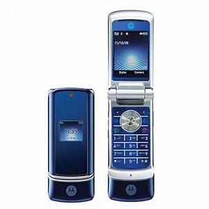 Original Unlocked Motorola Krzr K1 Cell Phone Bluetooth
