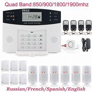 Gsm Alarm System 99 8 Zone  U0438 U043d U0441 U0442 U0440 U0443 U043a U0446 U0438 U044f  U043d U0430  U0440 U0443 U0441 U0441 U043a U043e U043c