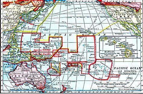 Pacific Ocean And Oceania