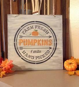 Rustic, Farmhouse, Pumpkin, Decor, Fall, Signs, Autumn, Sign, Farm