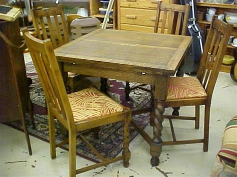 pub table with four chairs barley twist pub table and chairs
