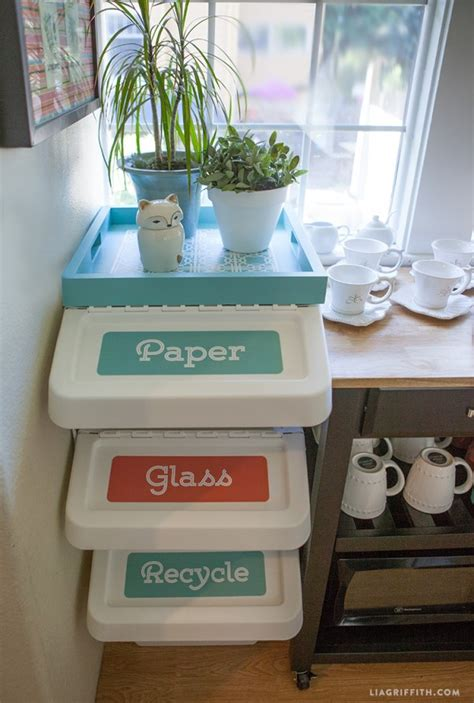 recycle labels   home office recycling center