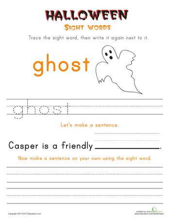 halloween vocab words ghost  images halloween