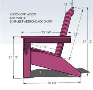 ana white build a ana s adirondack chair free and easy