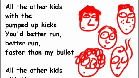 Pumped Up Kicks Lyrics And Chords Foster The People 2d
