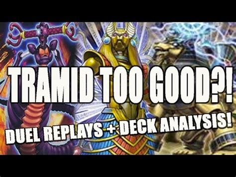 yugioh deck archetypes yugioh new tramid archetype duel replay deck
