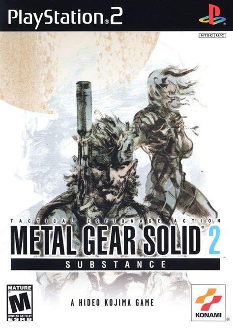 Metal Gear Solid 2 Substance Metal Gear Wiki Fandom