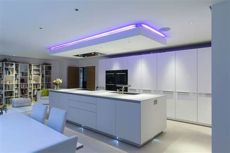 Lowered Ceiling Ideas by An Interesting Feature Of This Kitchen Is The Individually
