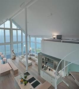 Haus Mit Galerie Im Wohnzimmer : wohnzimmer loft mit galerie innenarchitektur designhaus mommsen von baufritz hausbaudirekt ~ Orissabook.com Haus und Dekorationen