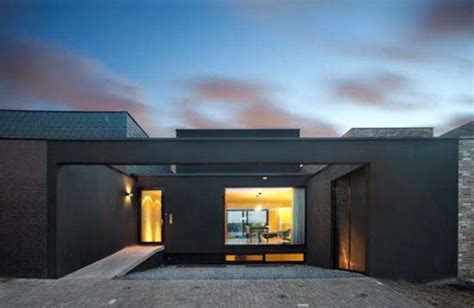 modern contemporary floor l l shaped house designs a contemporary modern house by nat