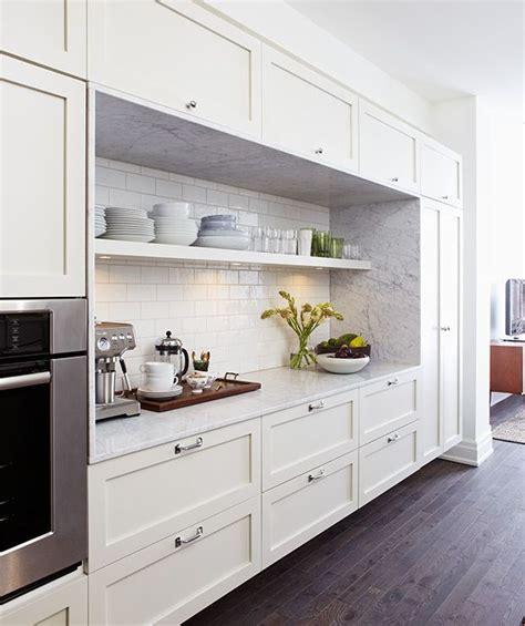 cuisines  etageres ouvertes narrow kitchen