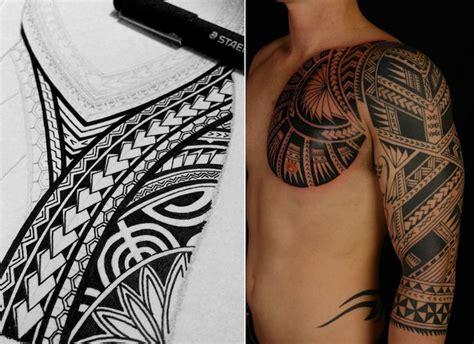 tatouage polynesien signification tatouage bracelet maorie signification