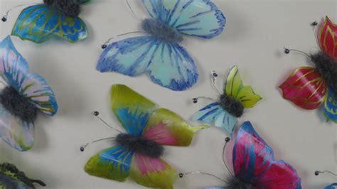 deko basteln ideen schmetterlinge aus plastikflaschen basteln deko ideen mit flora shop