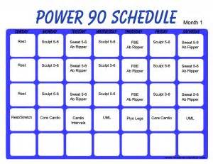 Power 90 Program - Effective Home Workout - Power 90 Workout Dvds Power 90