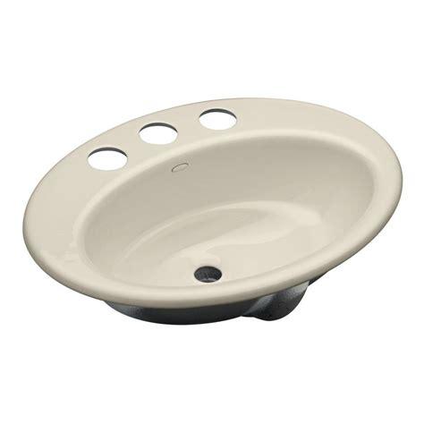 Home Depot Bathroom Sinks Undermount by Kohler Thoreau Undermount Cast Iron Bathroom Sink In