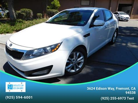 Kia Of Fremont by 2013 Kia Optima Ex 4dr Sedan In Fremont Ca Auto