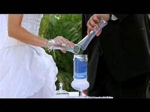 How to Perform a Sand Ceremony : Wedding Planning - YouTube