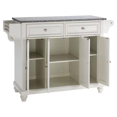 white kitchen island granite top cambridge solid granite top kitchen island white dcg