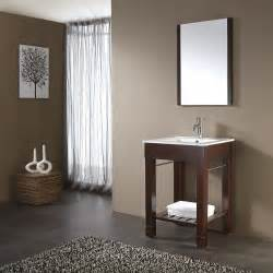 24 quot loft bathroom vanity dark walnut bathroom