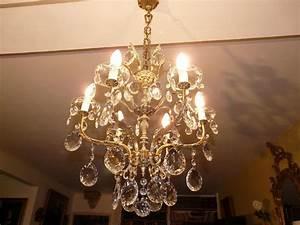 Lustre Pampilles Cristal : lustre cristal lustre cristal ~ Teatrodelosmanantiales.com Idées de Décoration