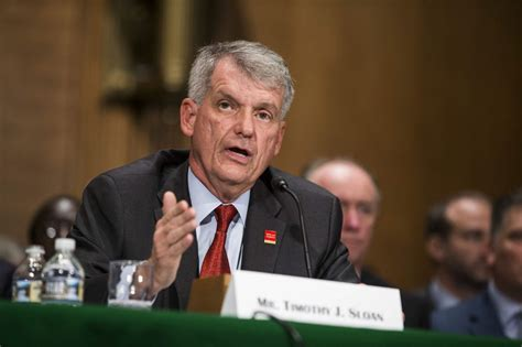 wells fargo sloan timothy testifies before ceo congress restricts reserve federal growth banking committee senate officer chief executive president october